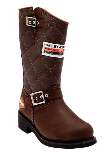 Harley Davidson Laconia 644 Çizme Kahve